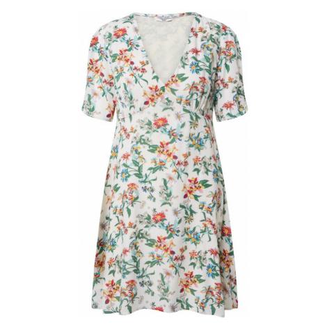 Tommy Jeans Letnia sukienka biały / mieszane kolory Tommy Hilfiger