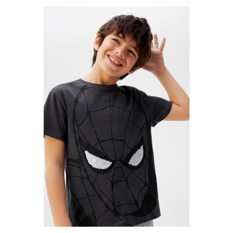 Mango Kids - T-shirt dziecięcy Super 110-152 cm