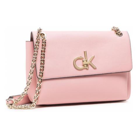 Calvin Klein Torebka Ew Conv Flap Xbody Md K60K606675 Różowy