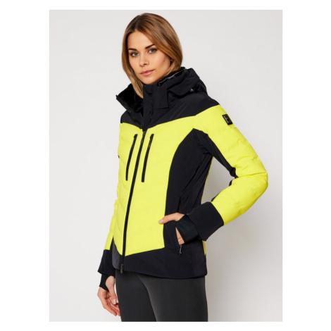 Descente Kurtka narciarska Chloe DWWQGK08 Żółty Regular Fit