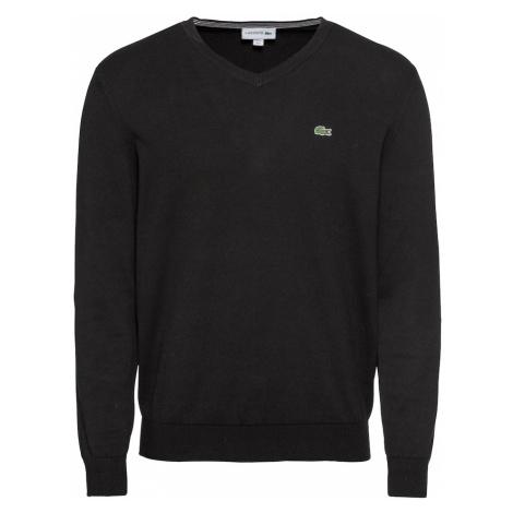 LACOSTE Sweter czarny