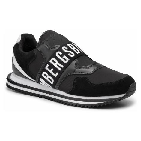 Sneakersy BIKKEMBERGS - Haled B4BKM0053 Black/White