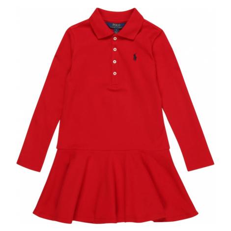 POLO RALPH LAUREN Sukienka czerwony
