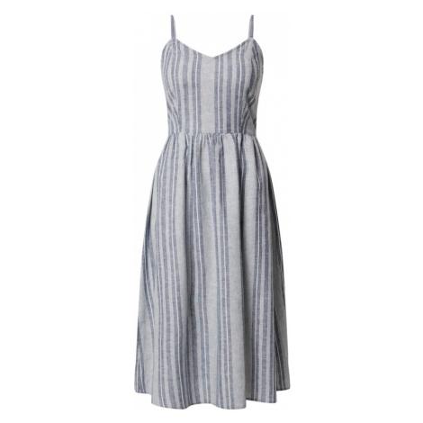 ONLY Sukienka 'CANYON' biały / nakrapiany niebieski