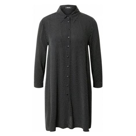 OPUS Bluzka 'Florenze' czarny / biały