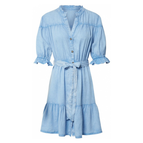 Miss Selfridge Sukienka 'ACID' niebieski