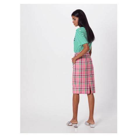 Essentiel Antwerp Spódnica 'Sigma' zielony / różowy / czerwony