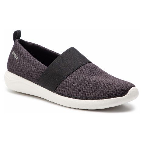 Sneakersy CROCS - Literide Mesh Slip On W 205727 Black/White