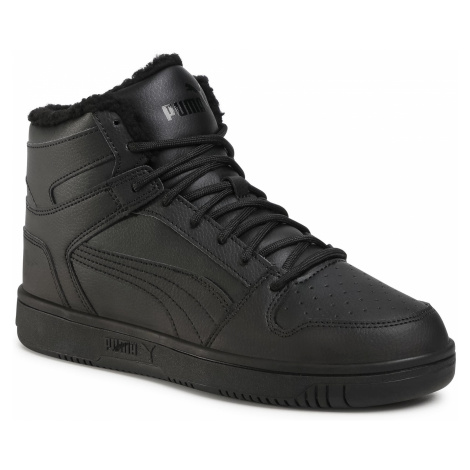 Sneakersy PUMA - Rebound Layup Sl Fur 369830 03 Puma Black/Puma Black