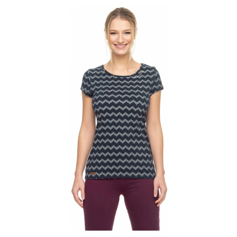 T-shirt Ragwear Mint Zig Zag - 2028/Navy