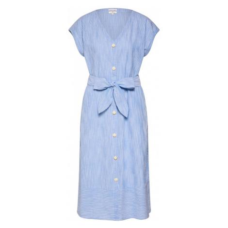 TOM TAILOR Sukienka koszulowa jasnoniebieski / biały