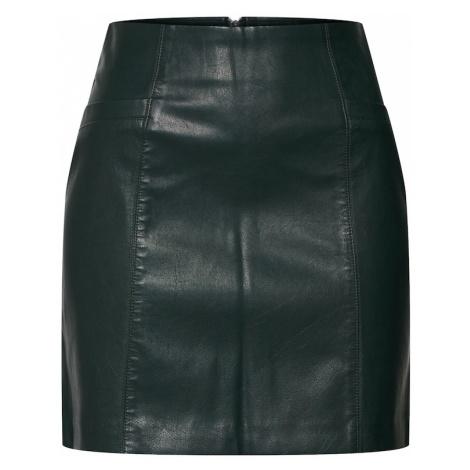 NEW LOOK Spódnica ciemnozielony