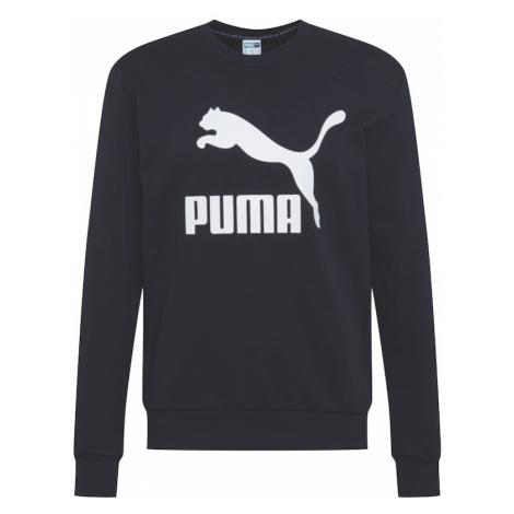 PUMA Bluzka sportowa biały / czarny