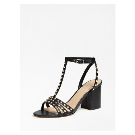 Skórzane Sandały Z Ćwiekami Model Maisa Guess