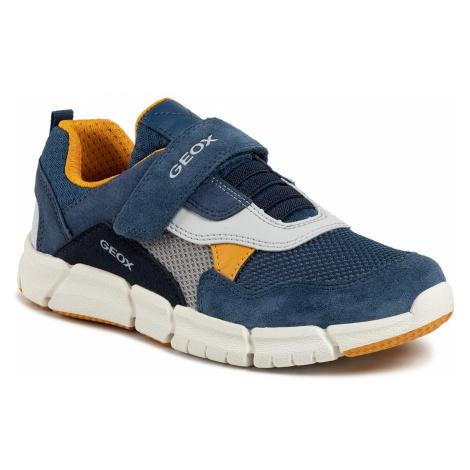 Sneakersy GEOX - J Flexyper B. D J029BD 01422 C4B2G S Avio/Dk Yellow