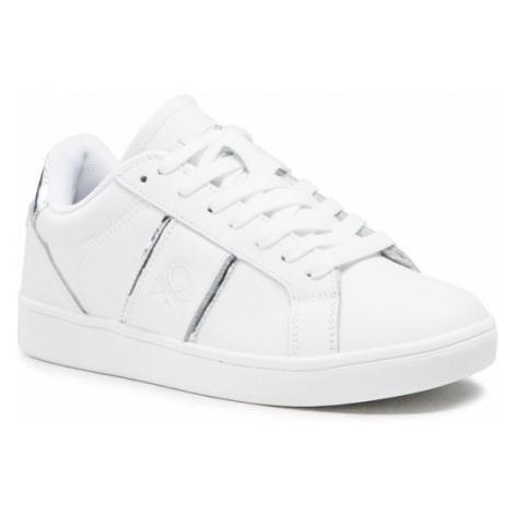 United Colors Of Benetton Sneakersy Walk Lth BTW114010 Biały