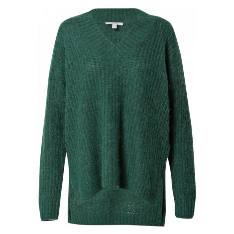 ESPRIT Sweter ciemnozielony