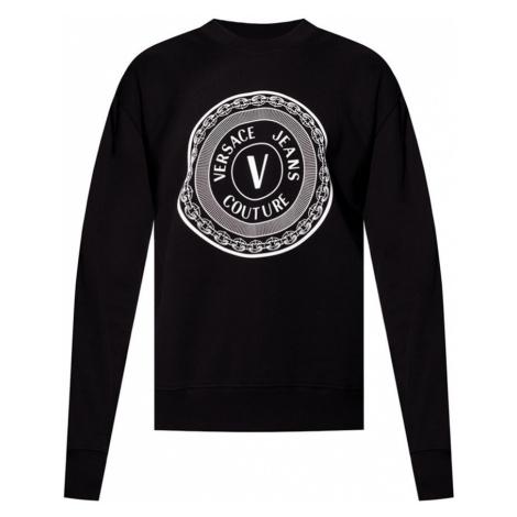 Sweatshirt with logo Versace