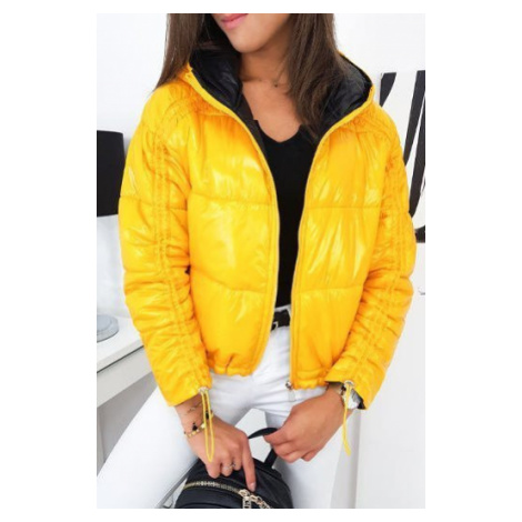 Quilted yellow SUVI women's jacket TY1284 DStreet