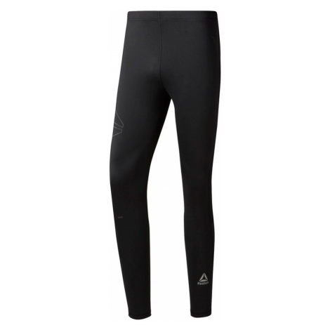 Legginsy Reebok Running Speedwick Tights M Czarne