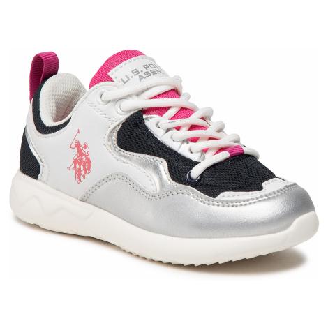 Sneakersy U.S. POLO ASSN. - Carly CARL4152S1/YM1 Whi/Sil