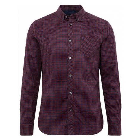 BURTON MENSWEAR LONDON Koszula burgund
