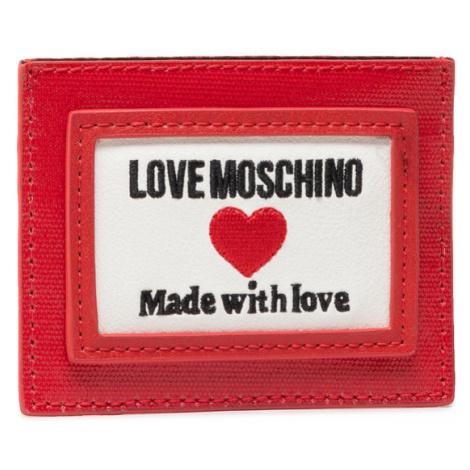 LOVE MOSCHINO Etui na karty kredytowe JC5606PP1CLC150A Czerwony