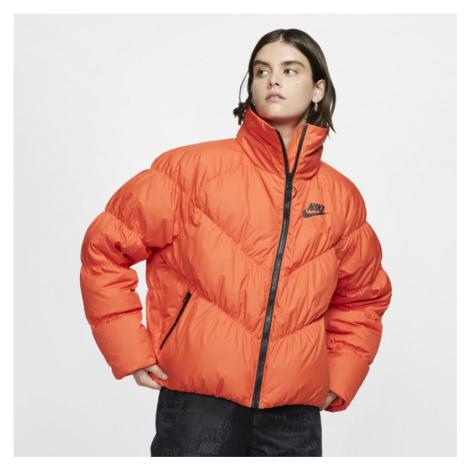 Kurtka damska Nike Sportswear - Pomarańczowy