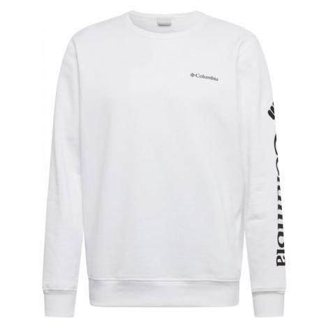 COLUMBIA Bluzka sportowa biały / czarny