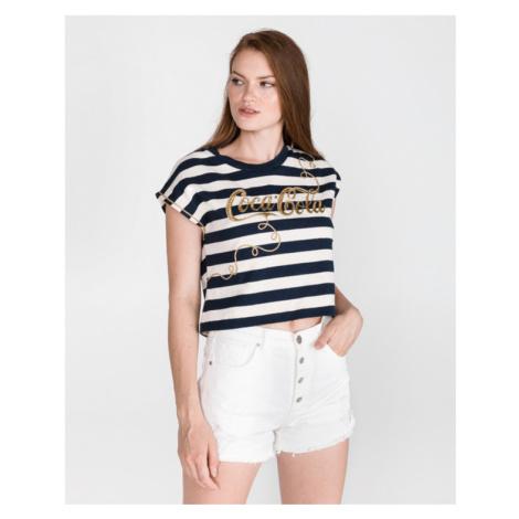 Pinko Ginepro Koszulka Niebieski Biały