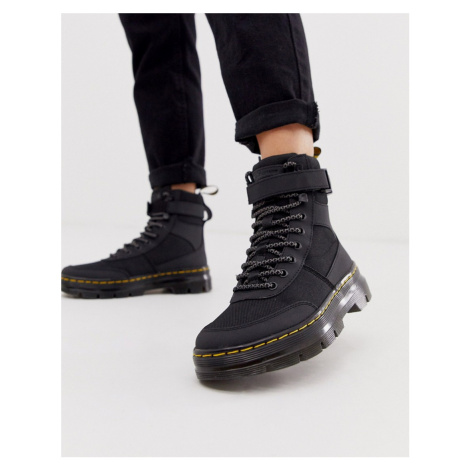 Dr Martens Combs Tech utility ankle boots in black