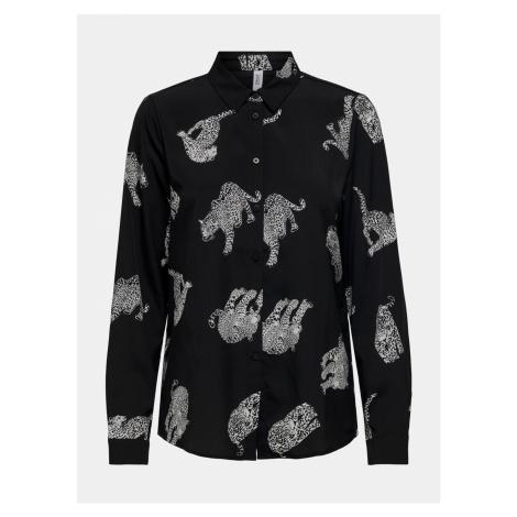 Czarna wzorzysta koszula TYLKO Tenna Only