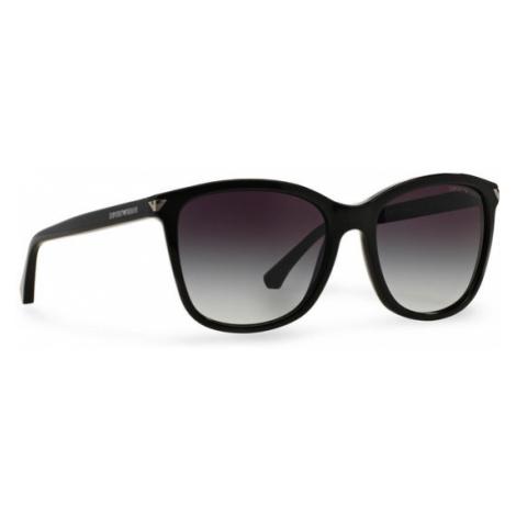 Emporio Armani Okulary przeciwsłoneczne 0EA4060 50178G Czarny