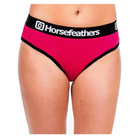 majtki Horsefeathers Vesna - Mineral Red