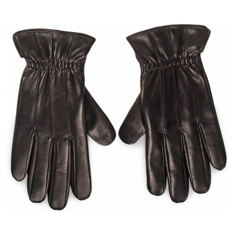 Rękawiczki Męskie GINO ROSSI - AR0182-000-OG00-9900-T Czarny
