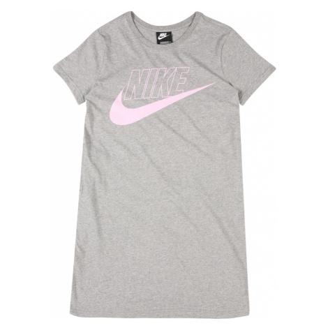 Nike Sportswear Sukienka różowy / szary