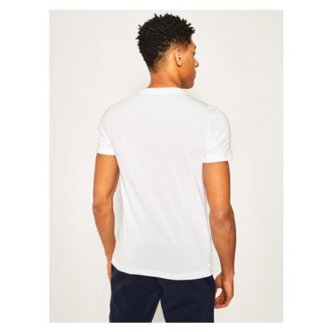 Lacoste T-Shirt TH4865 Biały Regular Fit