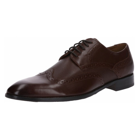 Gordon & Bros Buty sznurowane 'MIRCO' ciemnobrązowy