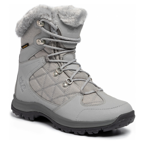 Śniegowce JACK WOLFSKIN - Thunder Bay Texapore Mid W 4020532 Light Grey/Grey