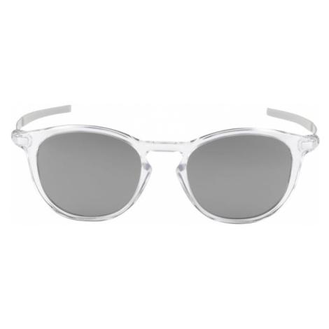 OAKLEY Sportowe okulary przeciwsłoneczne 'PITCHMAN' szary / biały