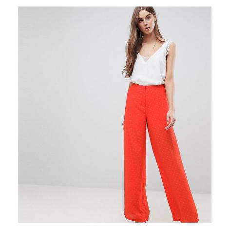 Y.A.S Tall Spot Wide Leg Trouser