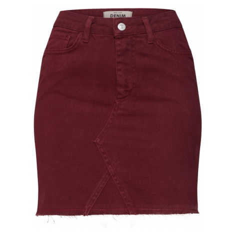 NEW LOOK Spódnica 'JELLY BEAN' burgund
