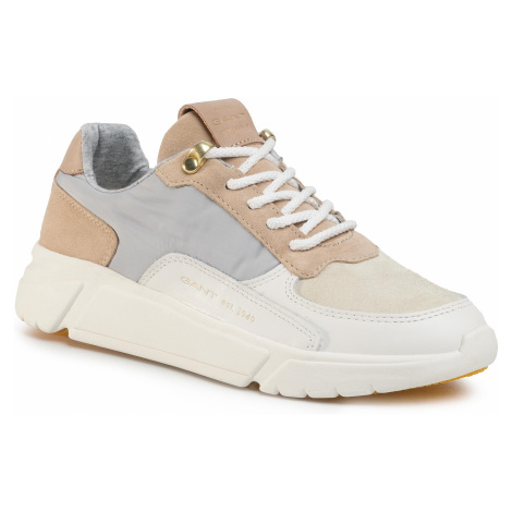 Sneakersy GANT - Cocoville 20533535 Br.Wht./Beig/Gray G298