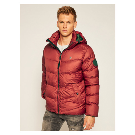 G-Star RAW Kurtka puchowa Whistler Hdd Puffer D14010-B958-5298 Bordowy Regular Fit