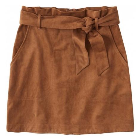 Abercrombie & Fitch Spódnica beżowy