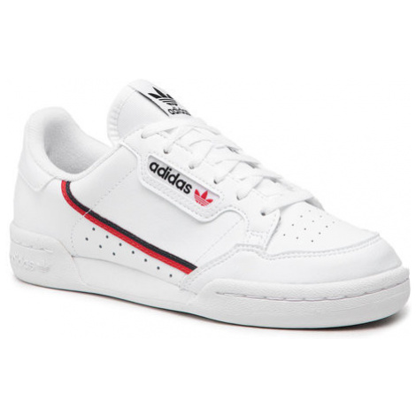 Adidas Buty Continental 80 J F99787 Biały