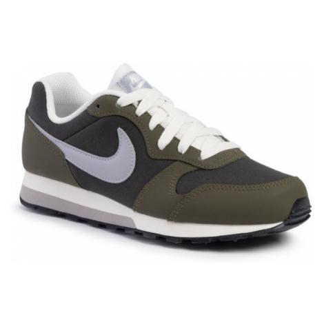 Nike Buty MD Runner 2 (GS) 807316 301 Zielony