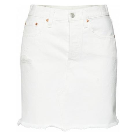 LEVI'S Spódnica 'HR DECON ICONIC BF SKIRT' biały Levi´s