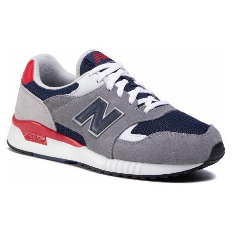 Sneakersy NEW BALANCE - ML570ATY Granatowy