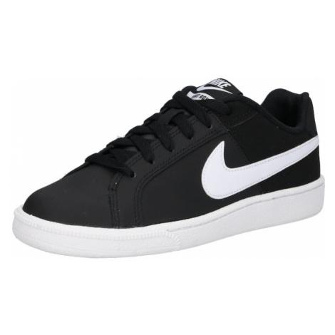 Nike Sportswear Trampki niskie 'Court Royale' czarny / biały